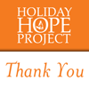 Holiday Hope Project Thank You